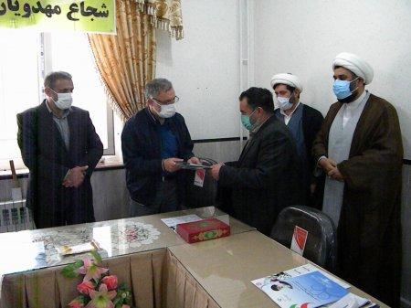 گزارش تصویری مراسم تحویل زمین موقوفه خیر نیری به بهزیستی استان