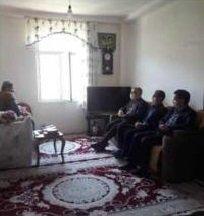 بازدید مدیرکل بهزیستی استان با معلول ضایعه نخاعی