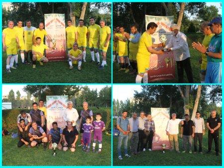 برگزاری مسابقات مینی فوتبال چهار جانبه به مناسبت هفته بهزیستی